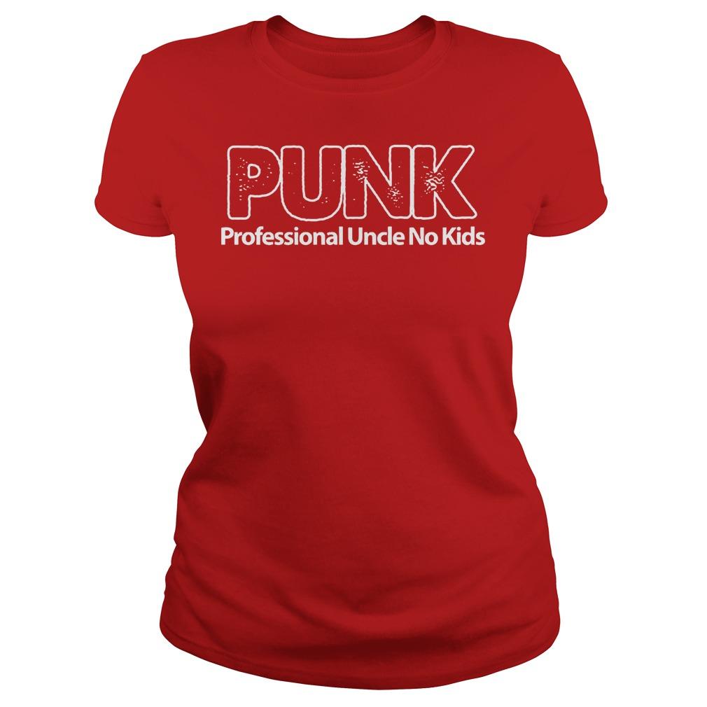 Punk Professional Uncle No Kids Ladies