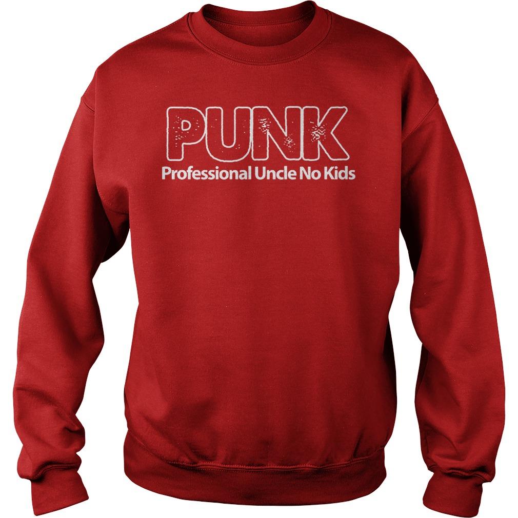 Punk Professional Uncle No Kids Sweater