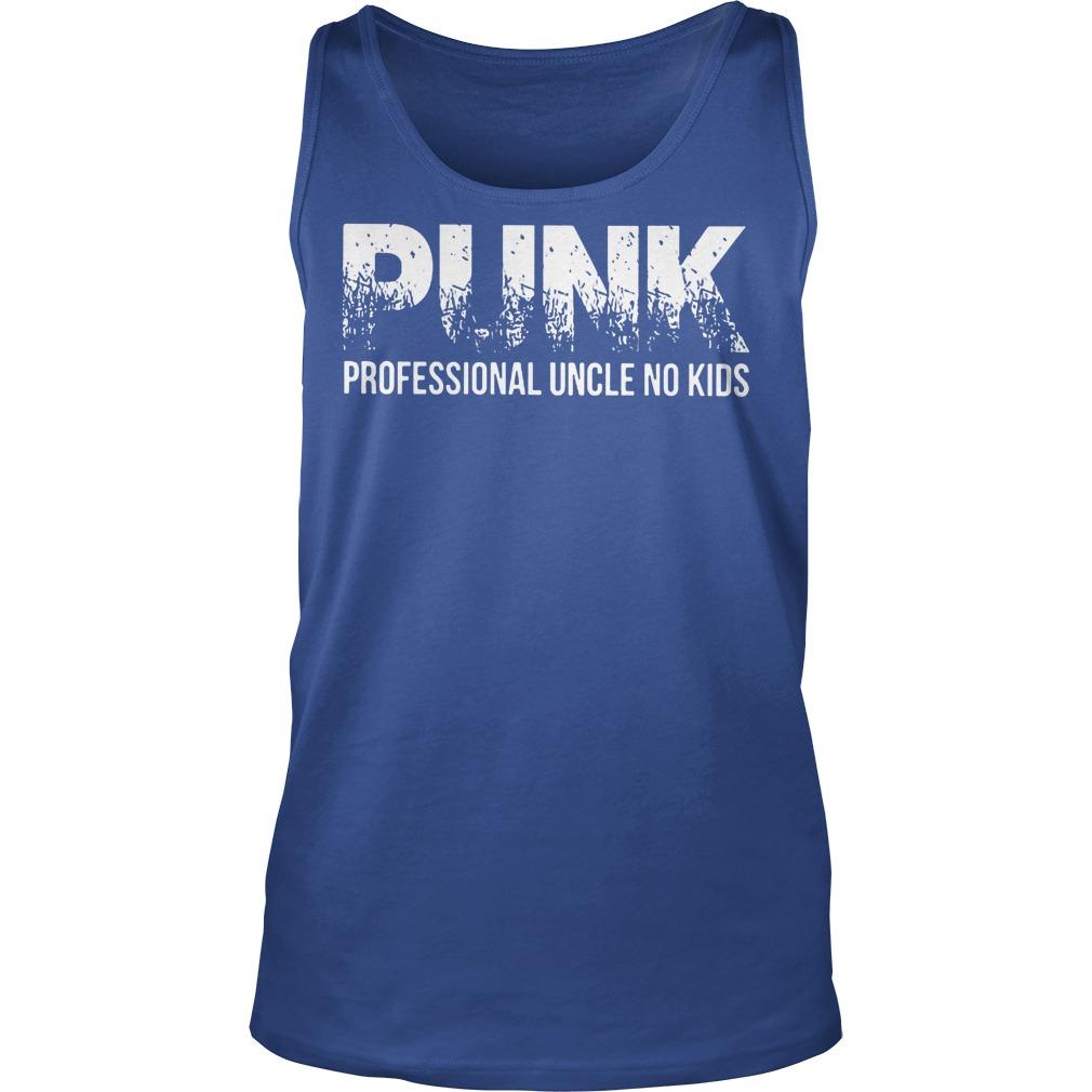 Punk Professional Uncle No Kids Tanktop