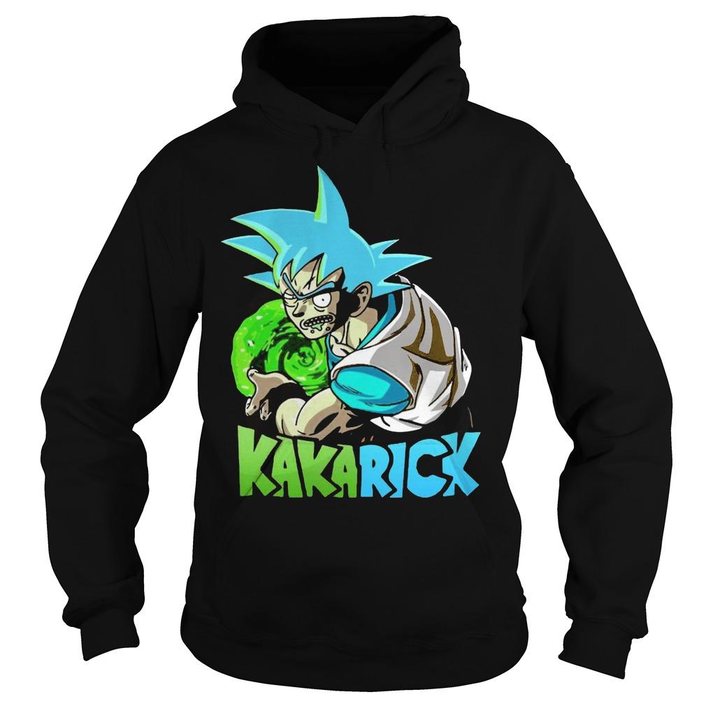 Rick Morty Dragon Ball Z Kakarick Hoodie