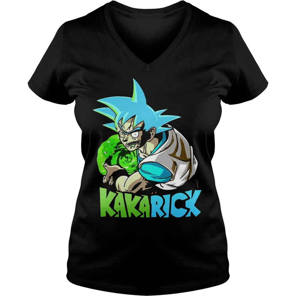 Rick Morty Dragon Ball Z Kakarick V Neck