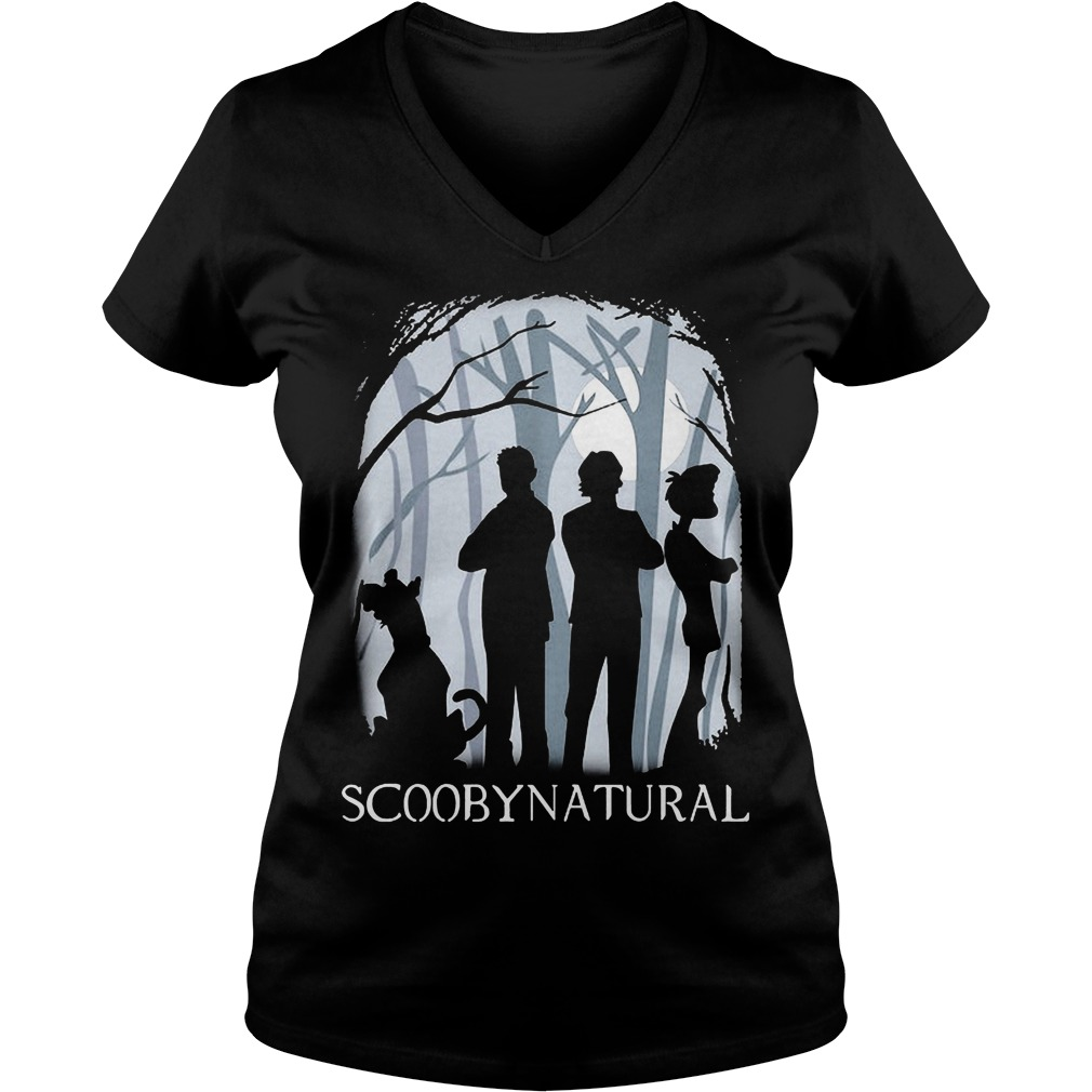 Scooby Natural In The Forest V Neck