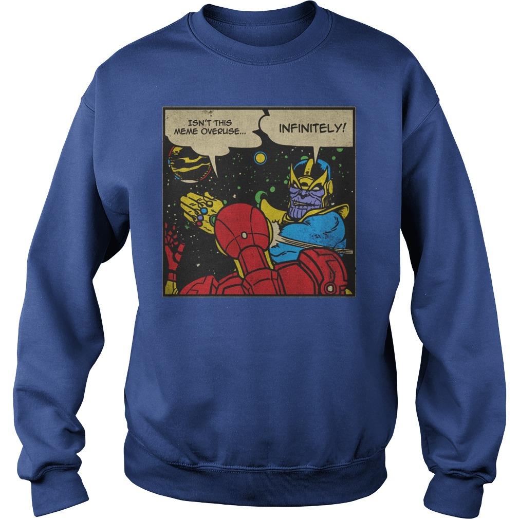 Thanos Infinite Slap Sweater