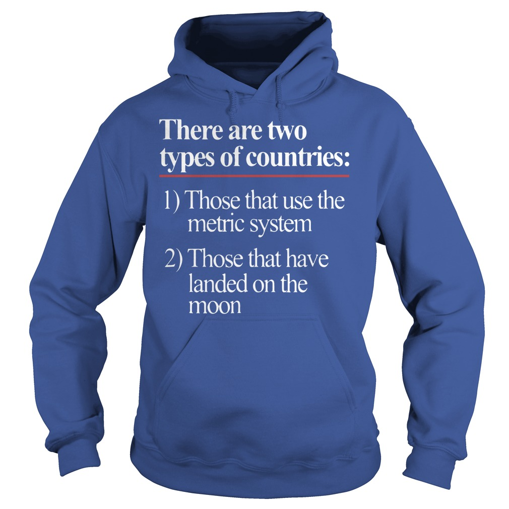 There Are Two Types Of Countries Those Who Use The Metric System Hoodie