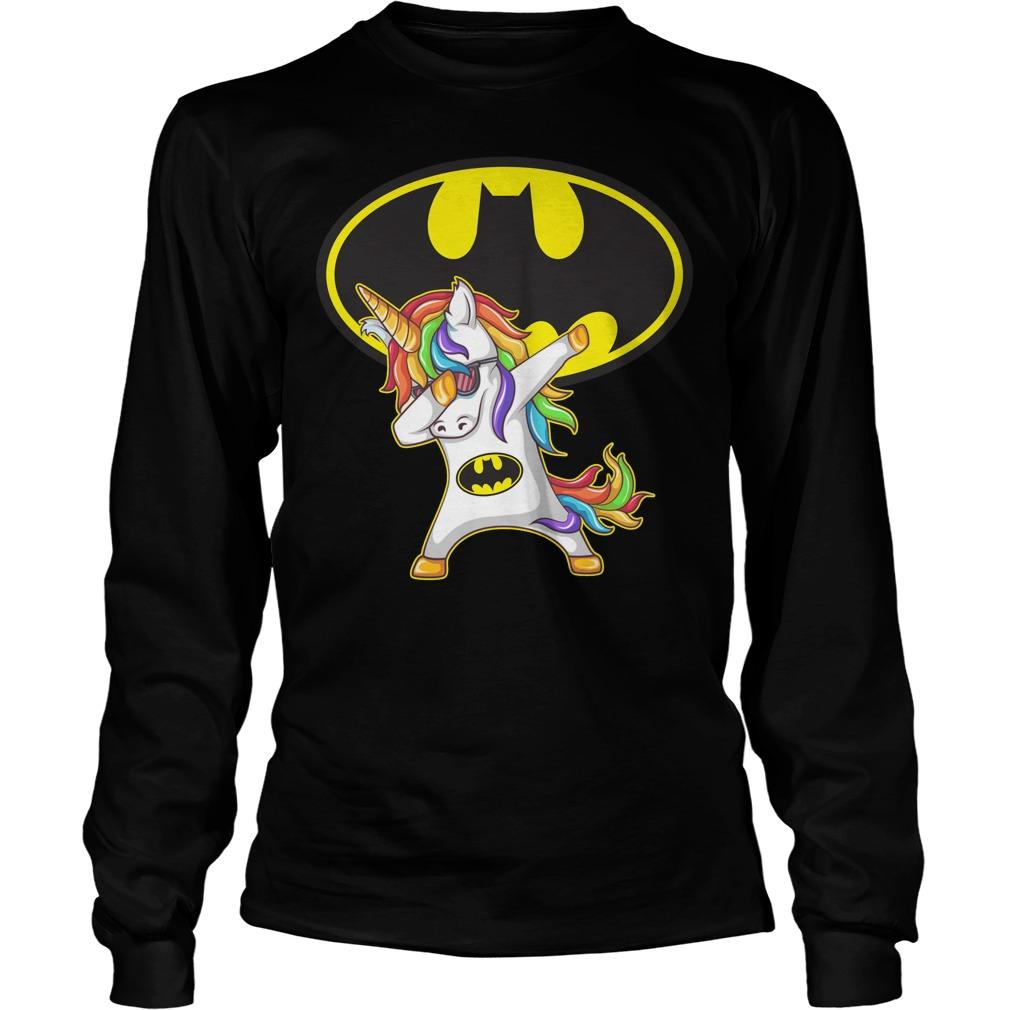 Unicorn Batman Dabbing Longsleeve
