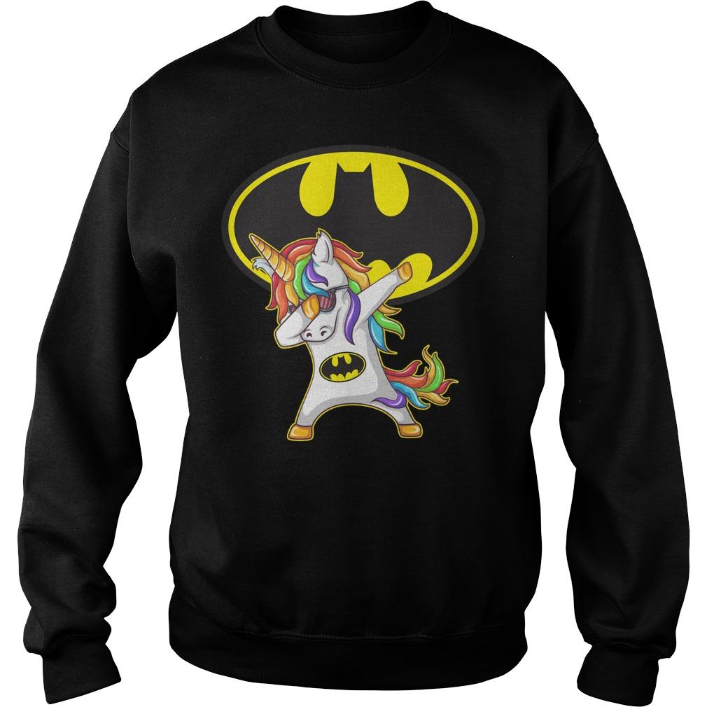 Unicorn Batman Dabbing Sweater