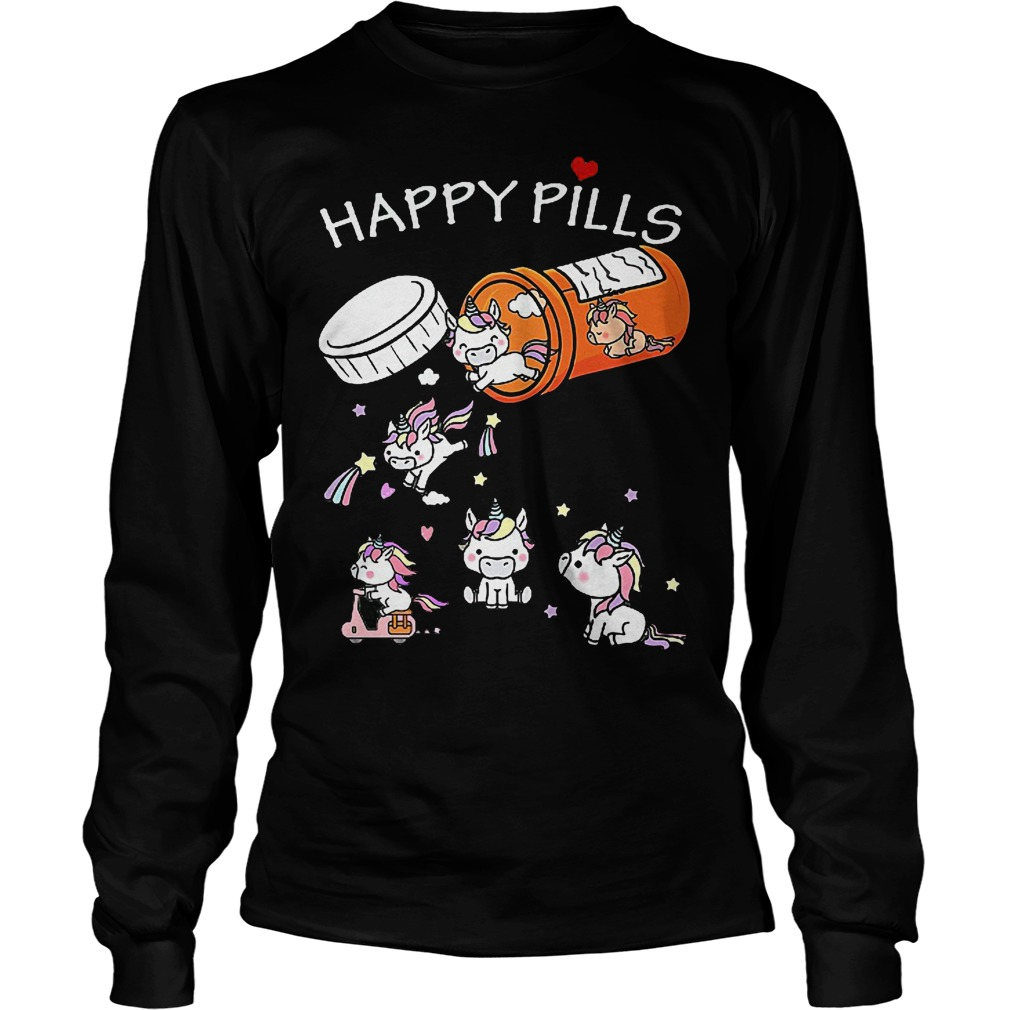 Unicorn Happy Pills Longsleeve