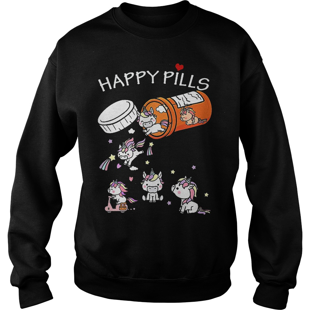 Unicorn Happy Pills Sweater
