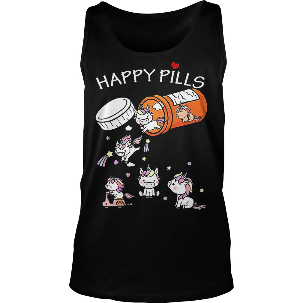 Unicorn Happy Pills Tanktop