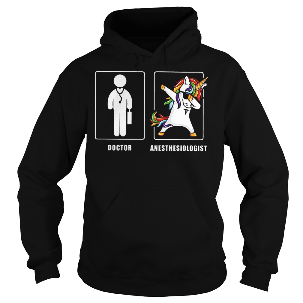 Anesthesiologist Doctor Unicorn Hoodie