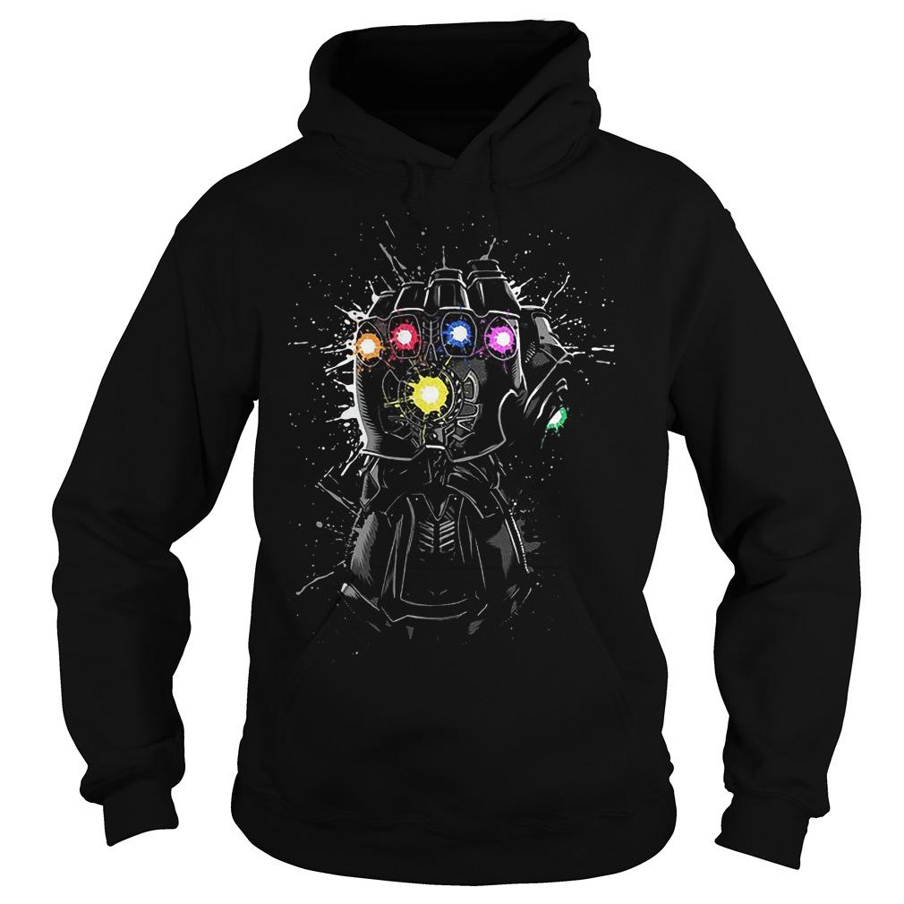 Avengers Black Infinity Gauntlet Hoodie