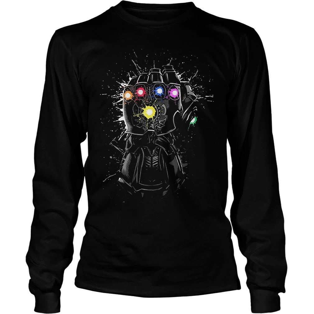 Avengers Black Infinity Gauntlet Longsleeve