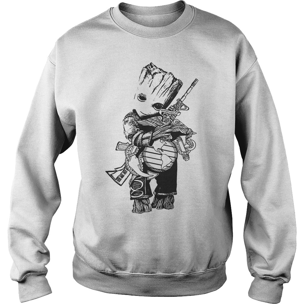 Baby Groot Hug Weapon Sweater