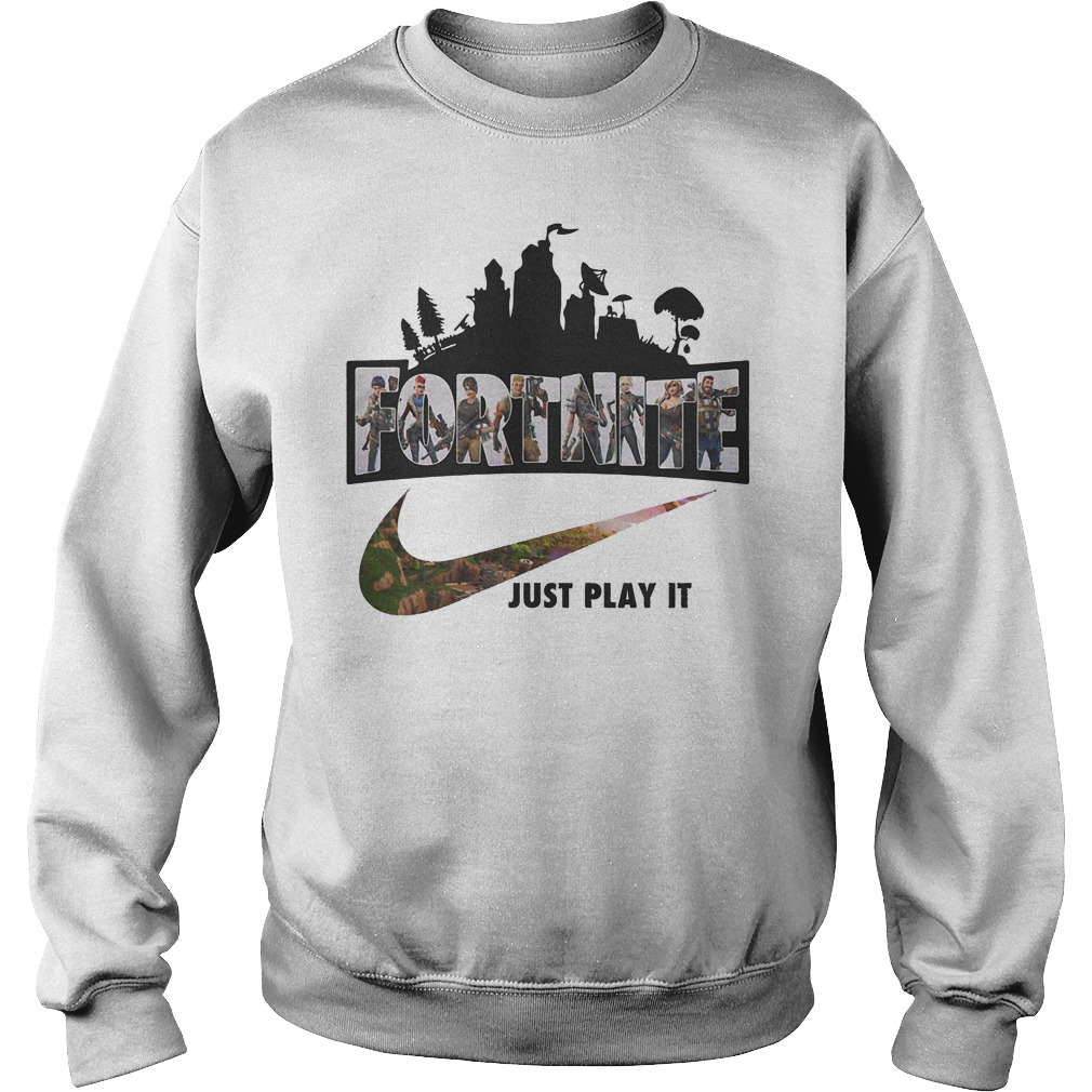 Fortnite Game Just Play It Sweater