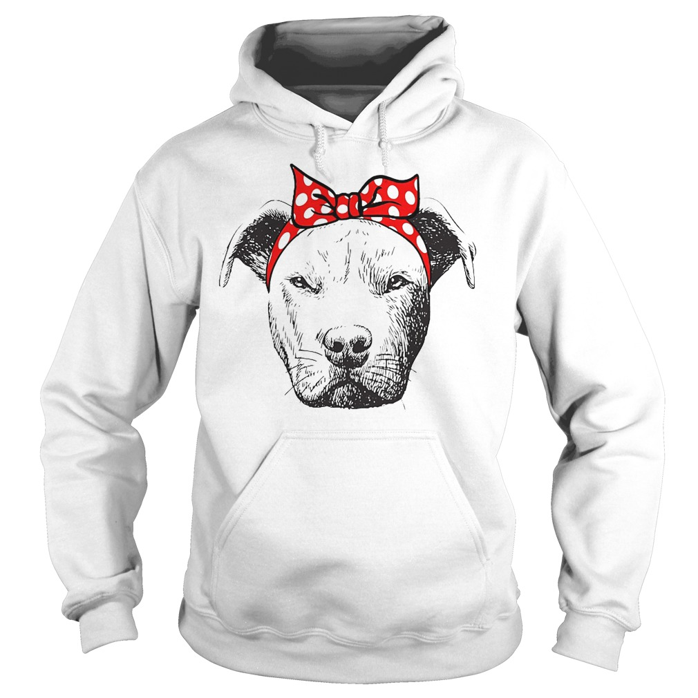 I Love Strong Pitbull Woman Hoodie