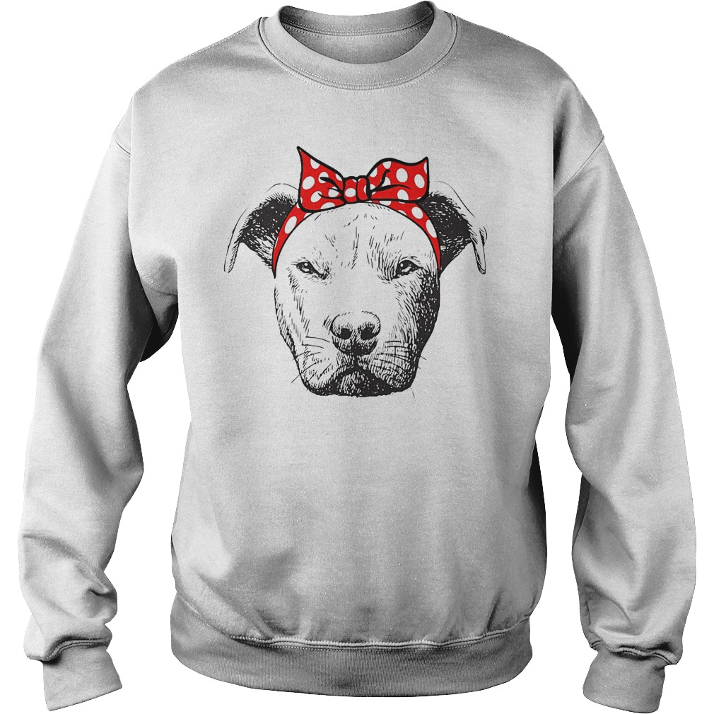 I Love Strong Pitbull Woman Sweater