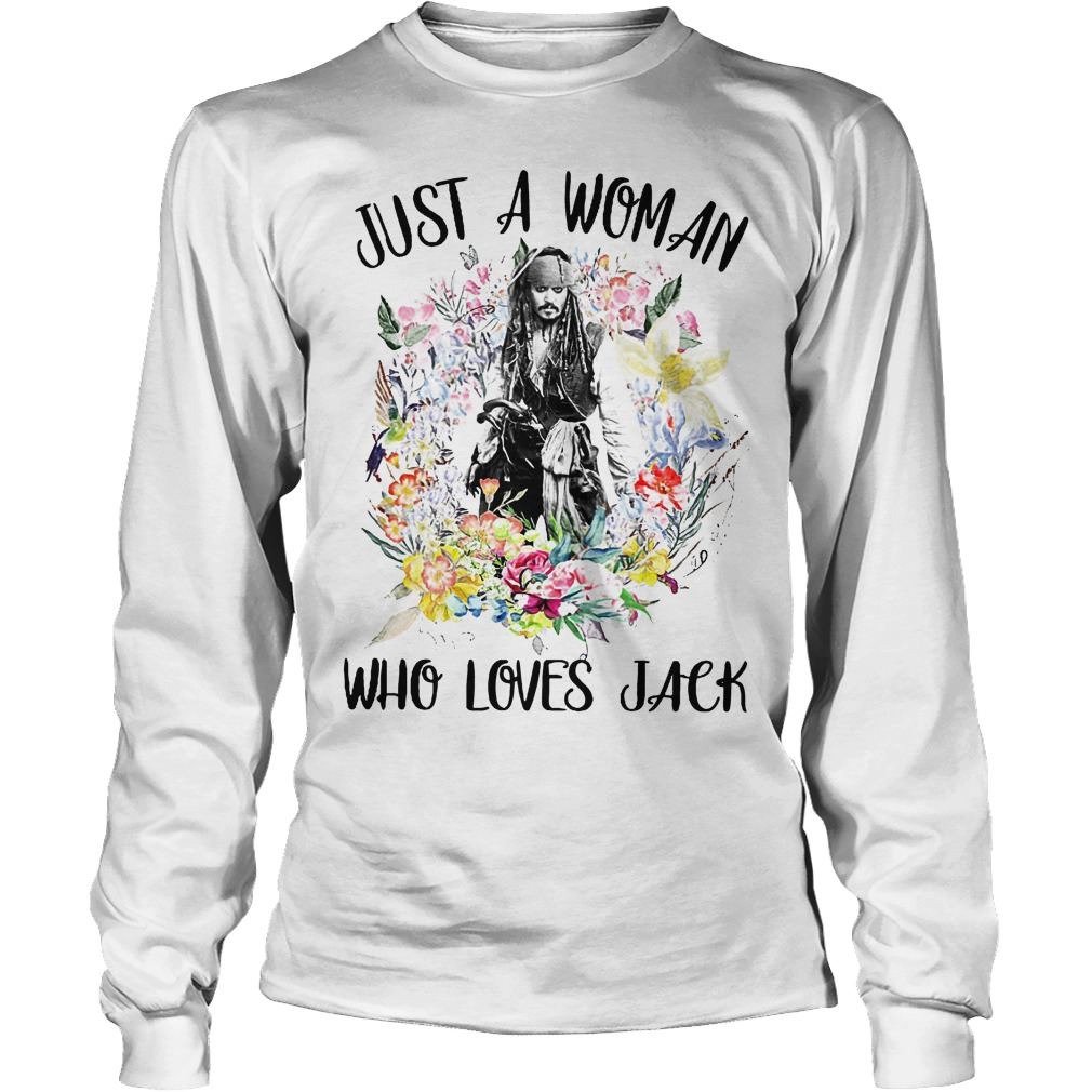 Just A Woman Who Loves Jack Longsleeve