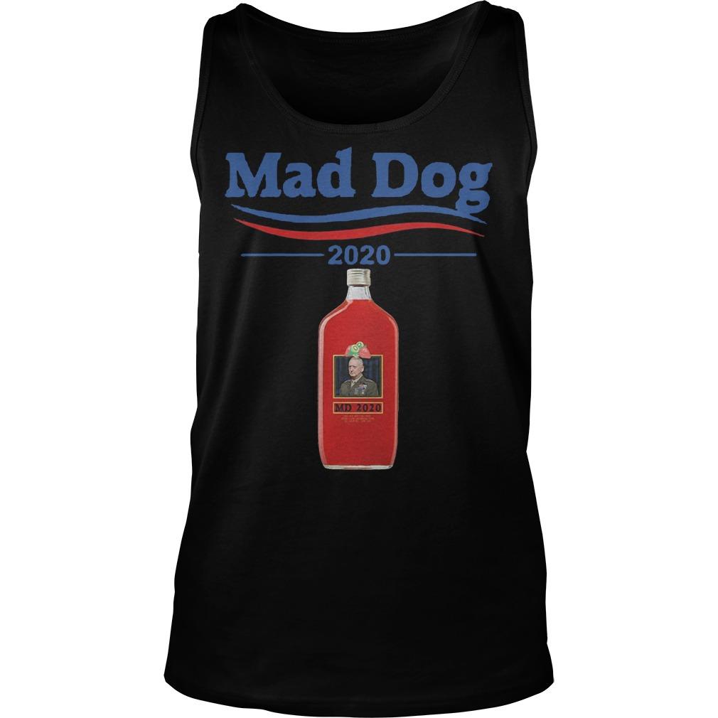Md 2020 Mad Dog Mattis 2020 Tanktop