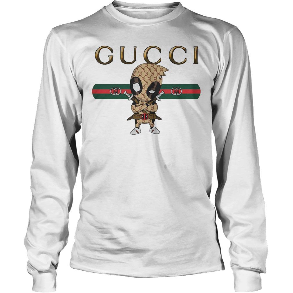 Official Gucci Deadpool Longsleeve