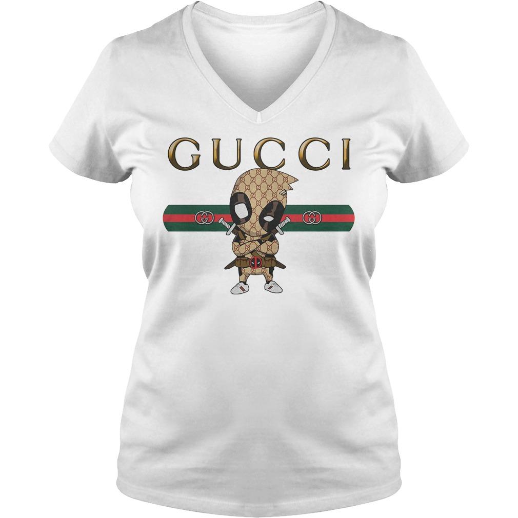 Official Gucci Deadpool V Neck