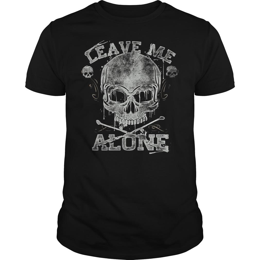 Skullistic Leave Me Alone Shirt