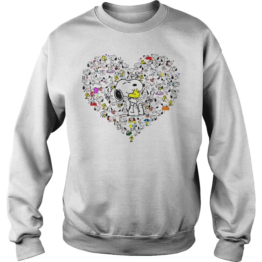 Snoopy With Heart Sweater