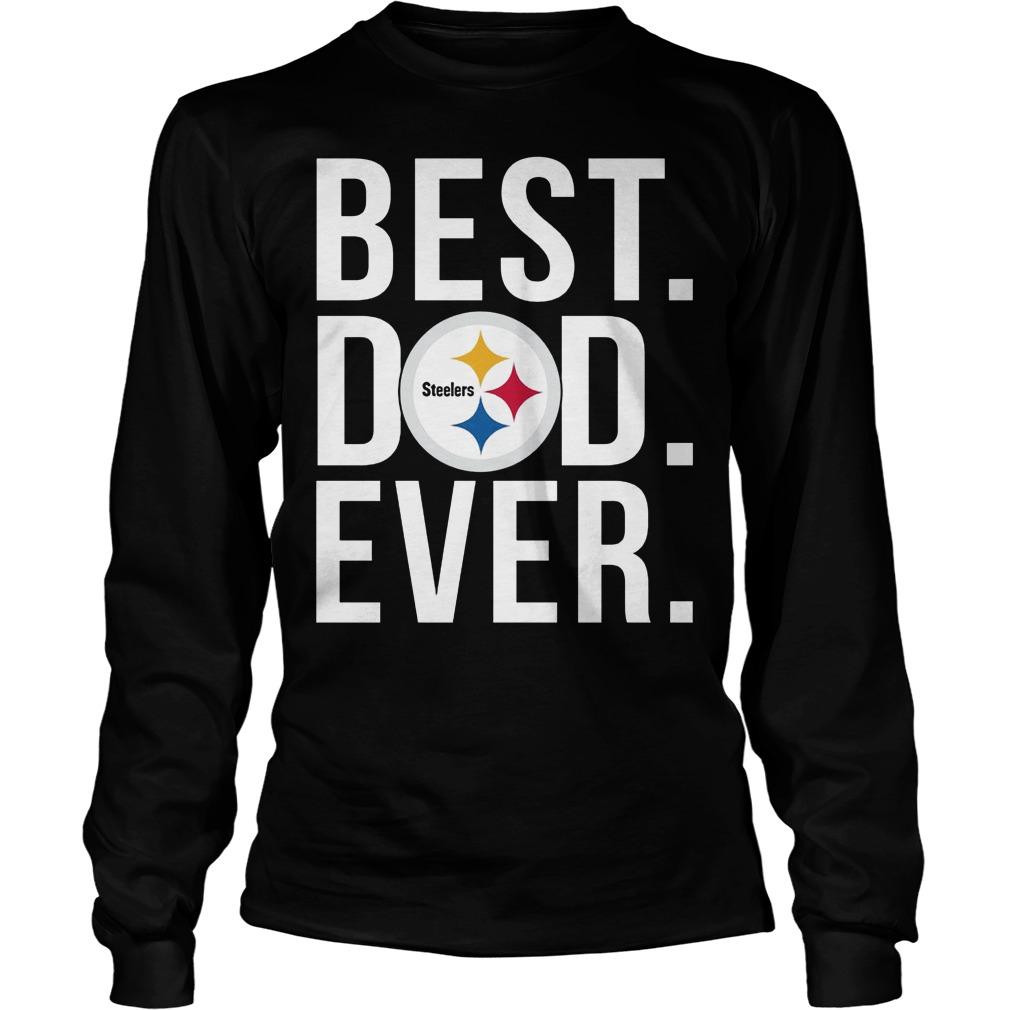 Steelers Best Dad Ever Longsleeve