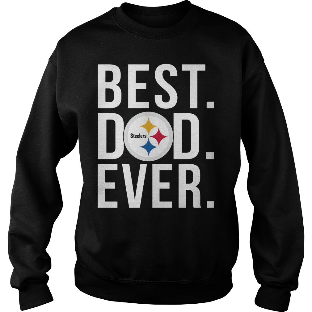 Steelers Best Dad Ever Sweater