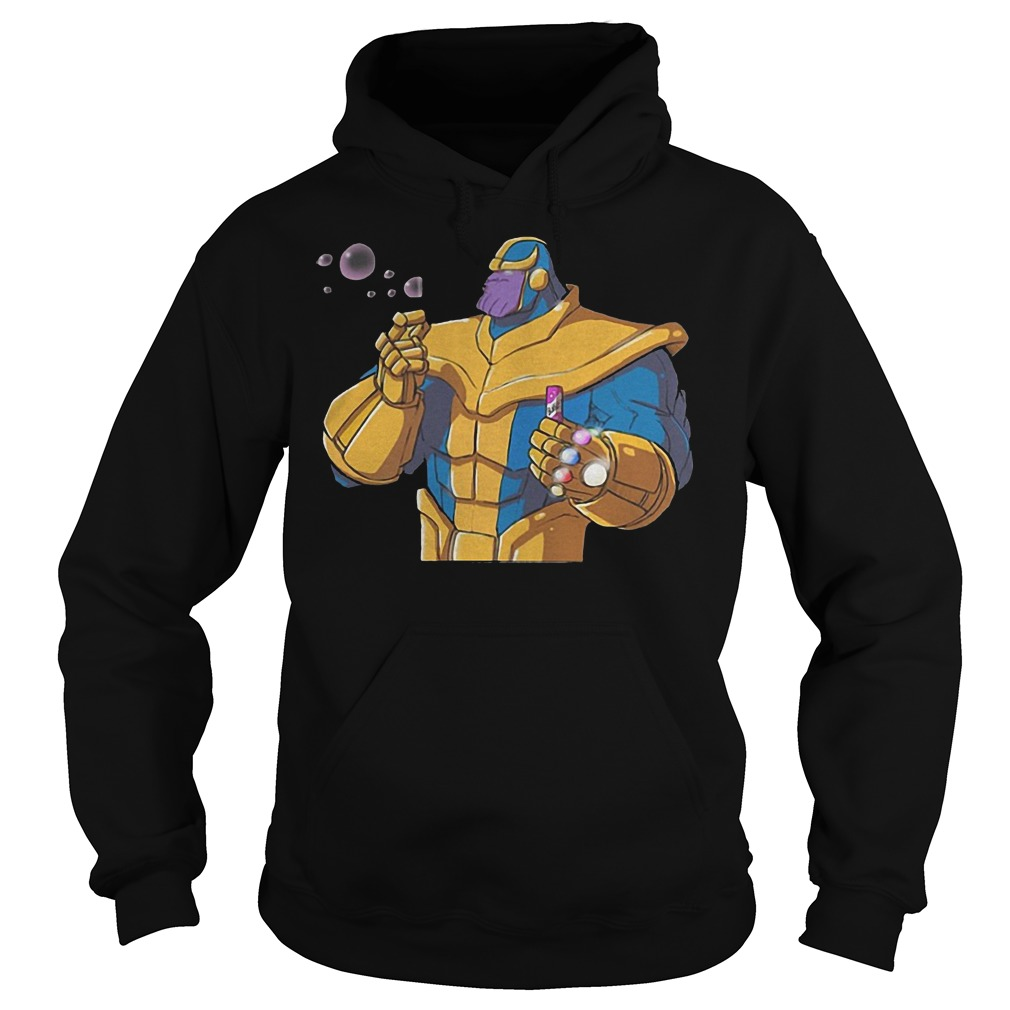 Thanos Blowing Bubbles Hoodie