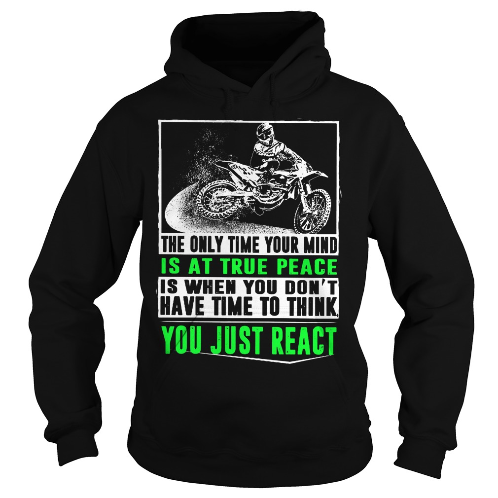 The Only Time Your Mind Is At True Peace Hoodie