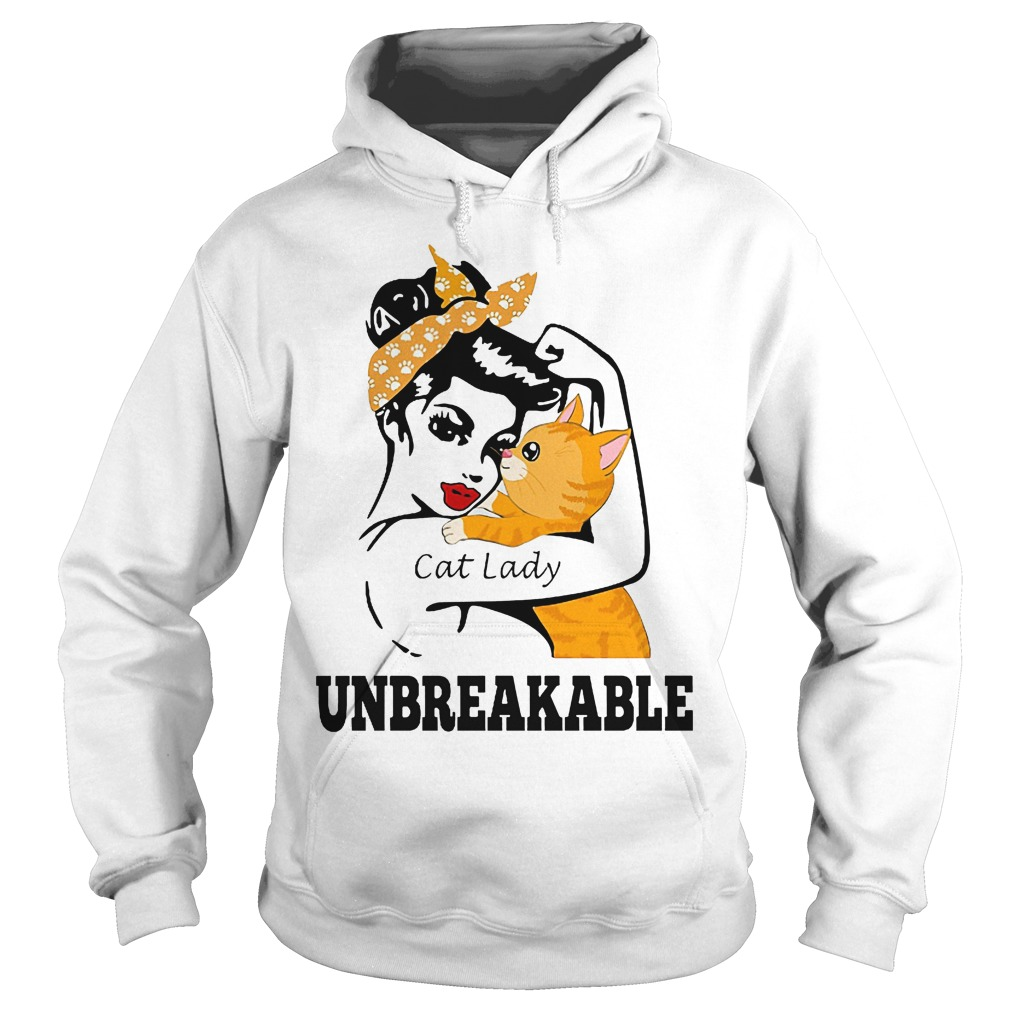 Unbreakable Cat Lady Hoodie