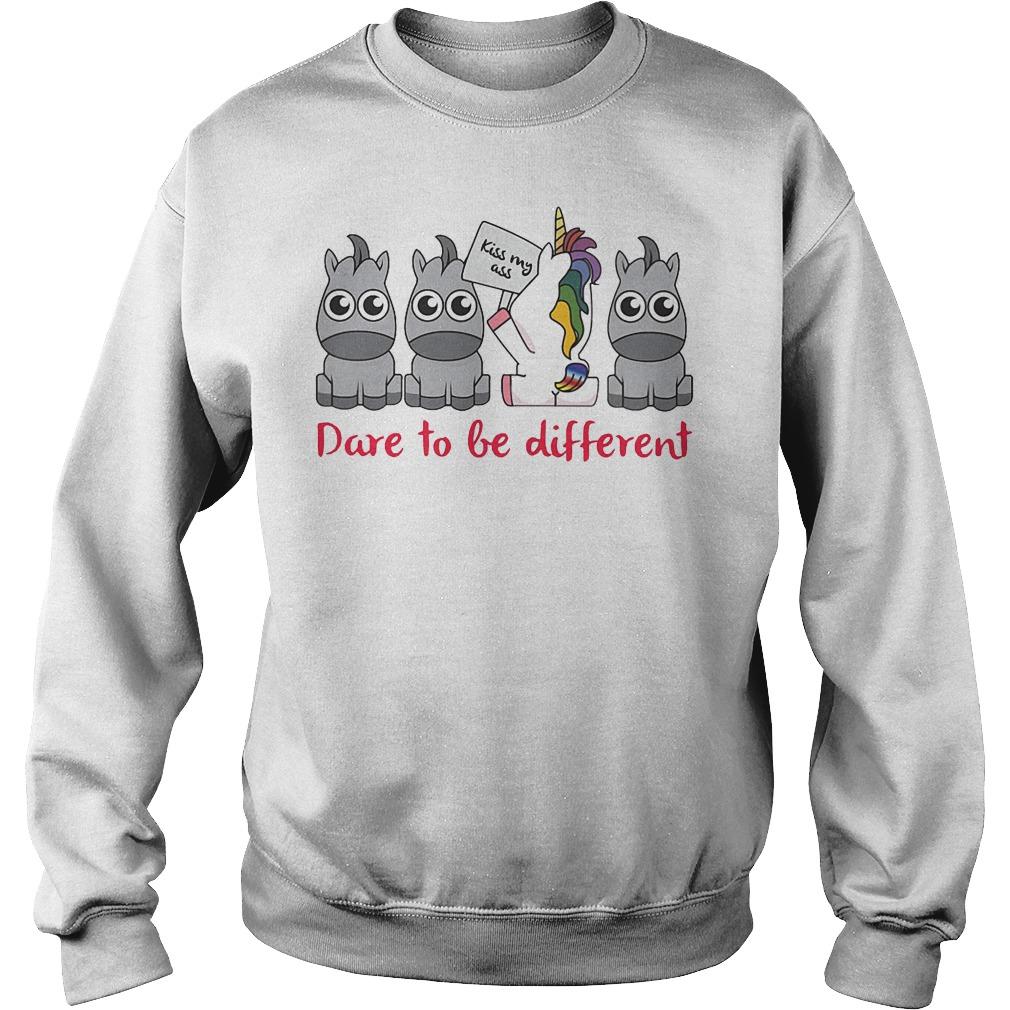 Unicorn Dare To Be Different Sweater