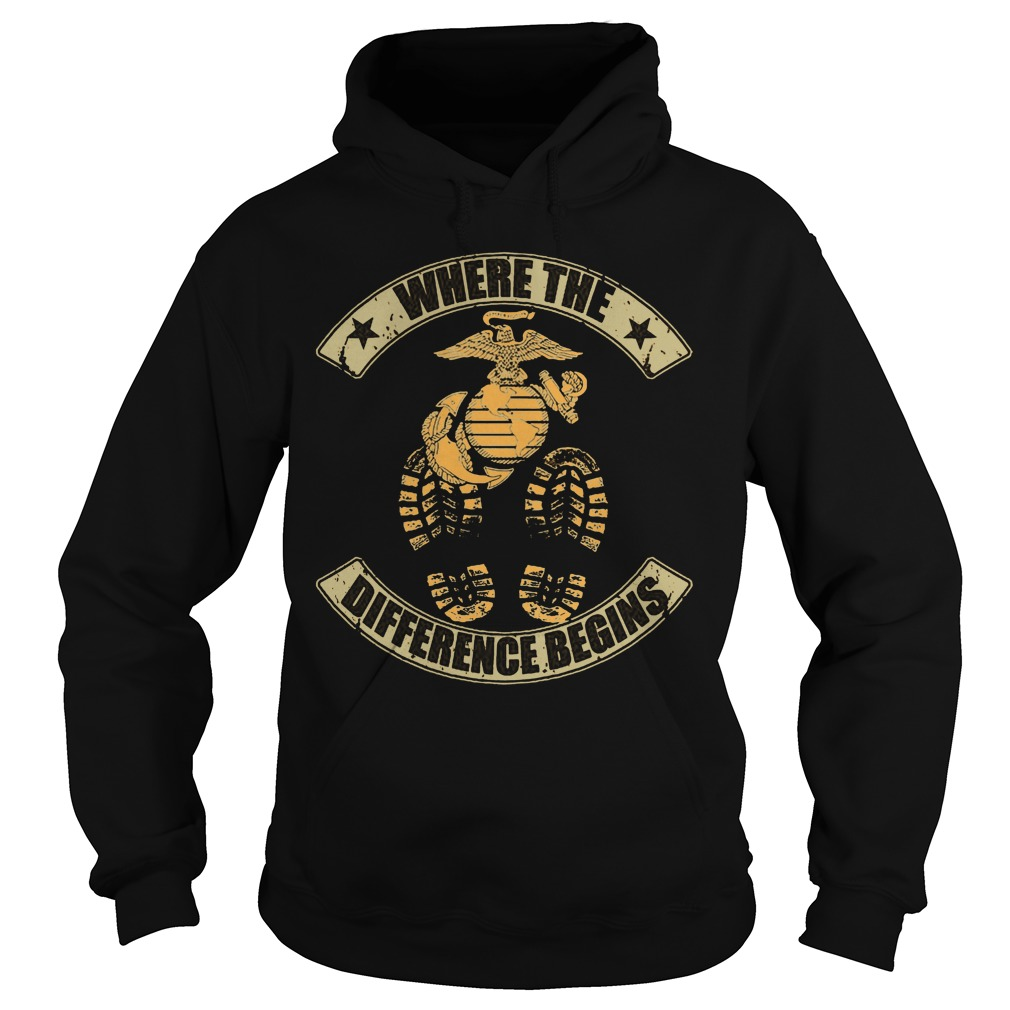 Where The Difference Begins Hoodie