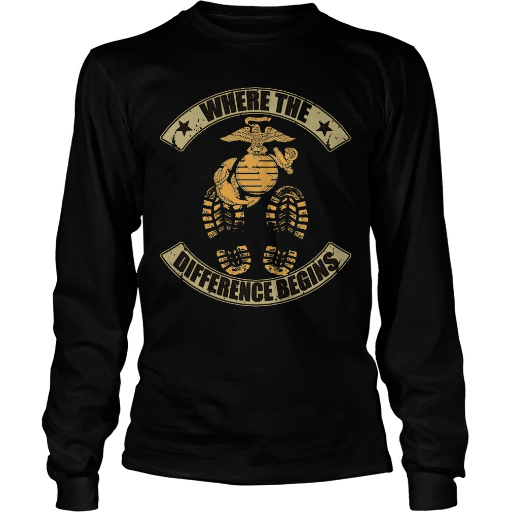 Where The Difference Begins Longsleeve