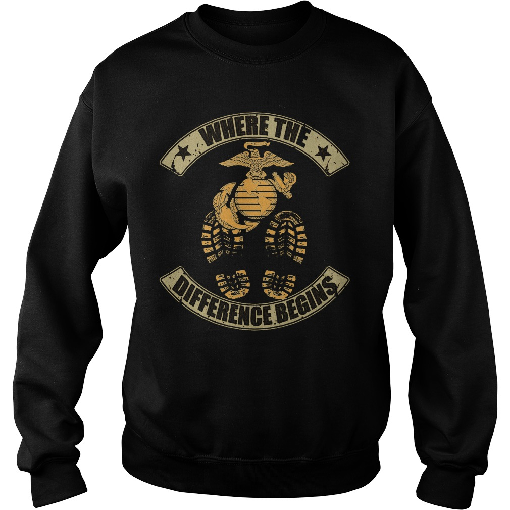Where The Difference Begins Sweater