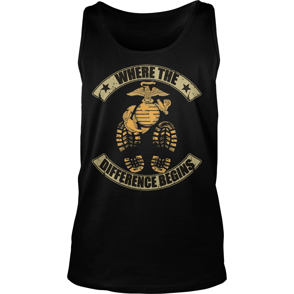 Where The Difference Begins Tanktop
