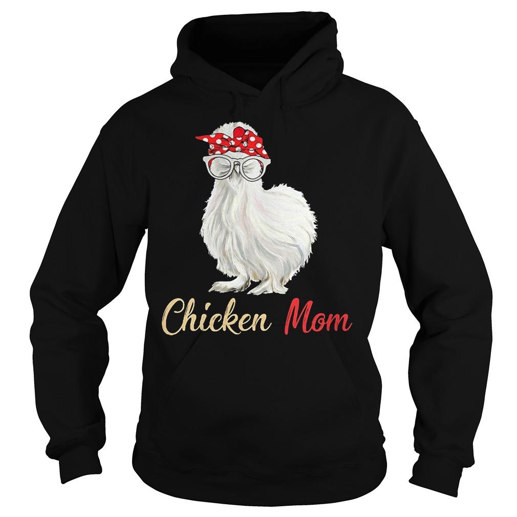 White Chicken Mom Hoodie
