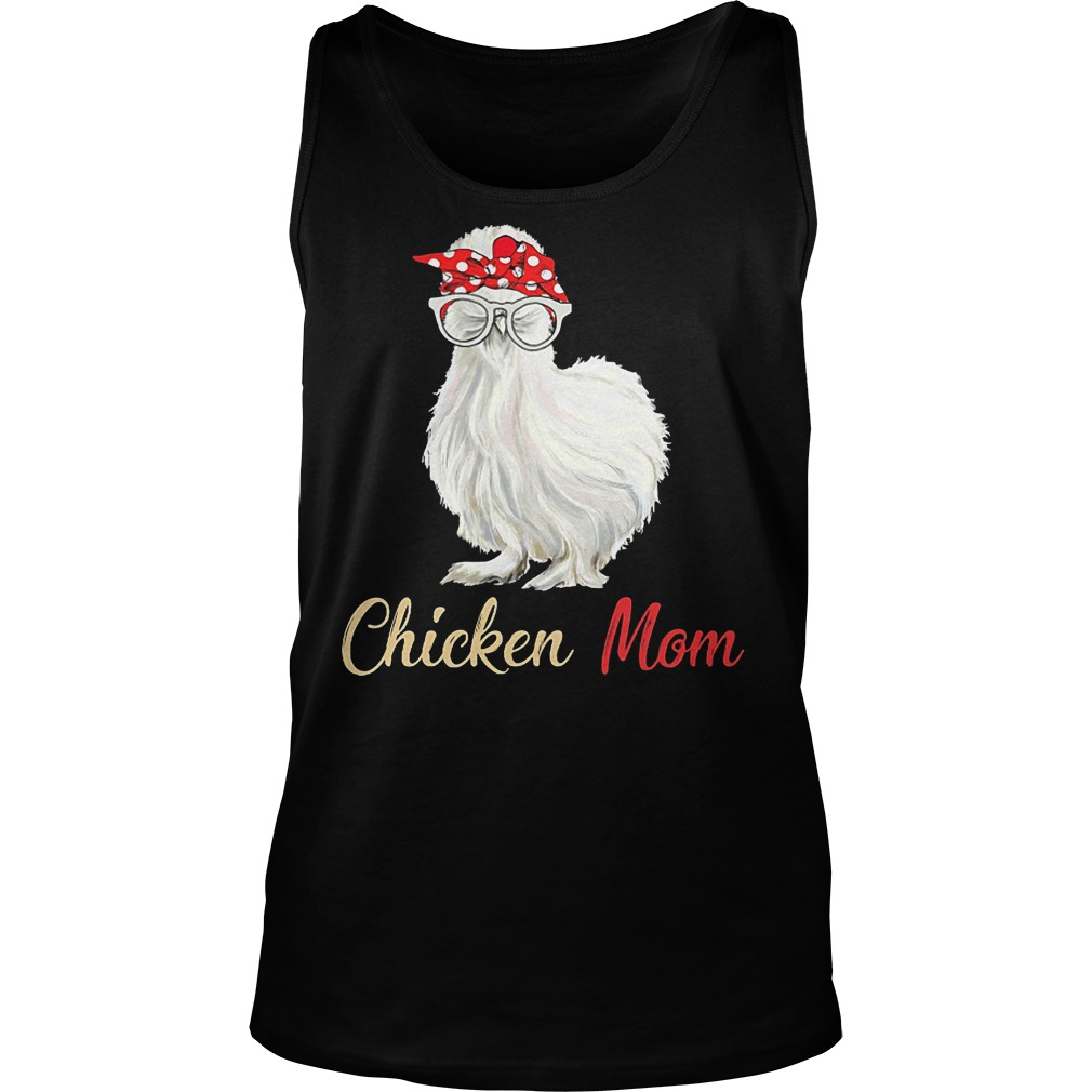 White Chicken Mom Tanktop