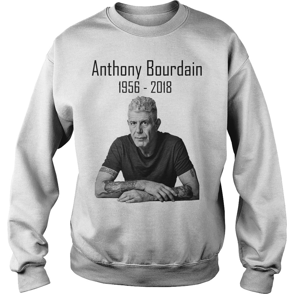 Anthony Bourdain 1956 2018 Sweater