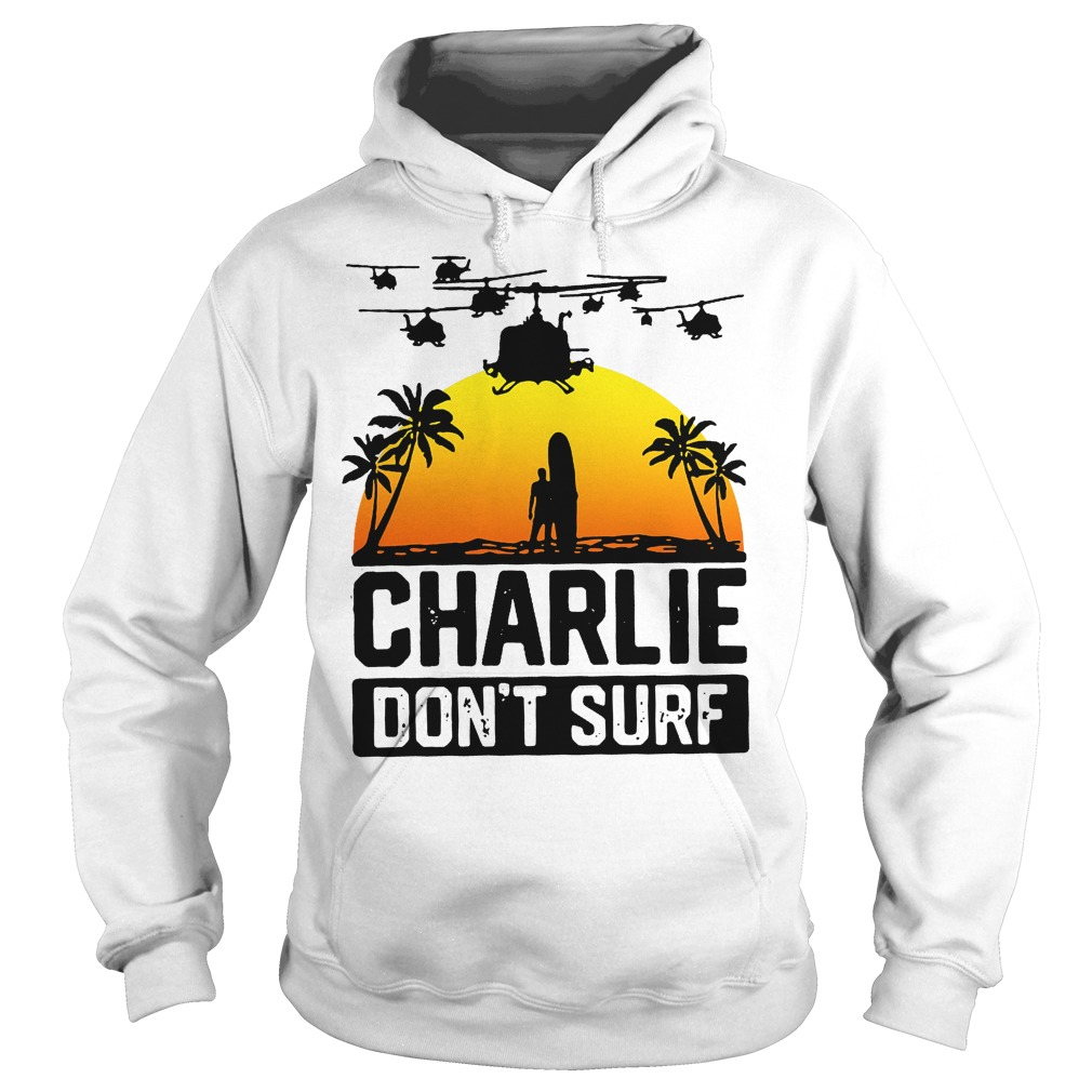 Charlie Official Charlie Don't Surf Hoodie