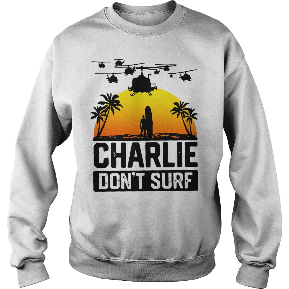 Charlie Official Charlie Don't Surf Sweater