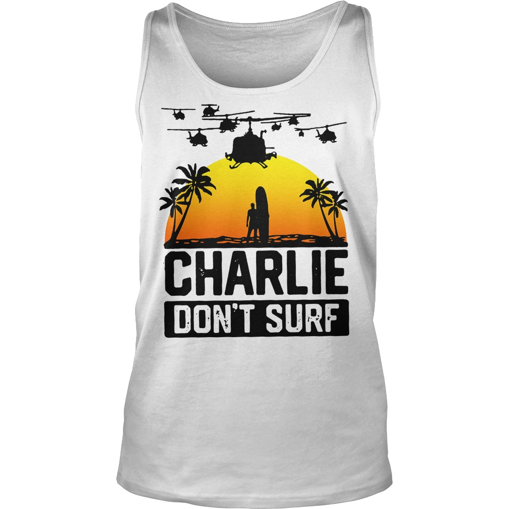 Charlie Official Charlie Don't Surf Tanktop