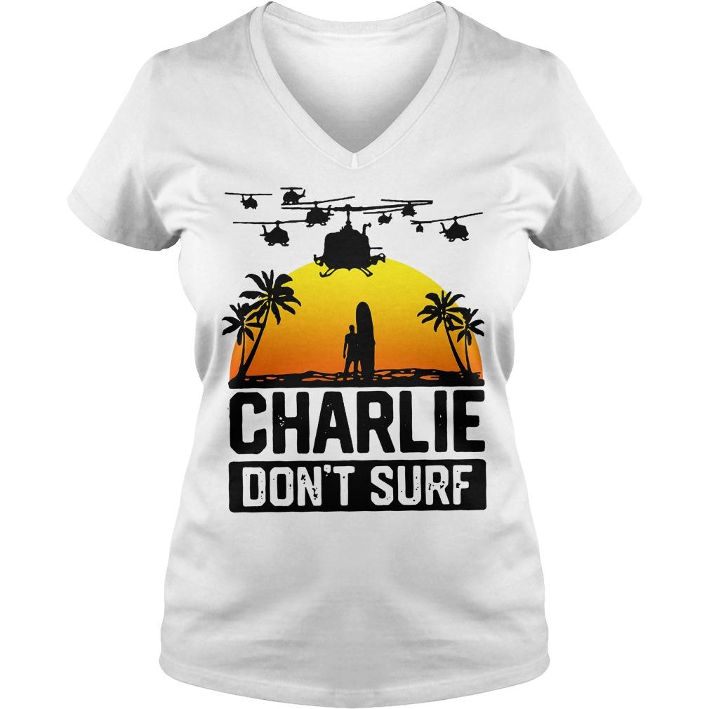 Charlie Official Charlie Don't Surf V Neck
