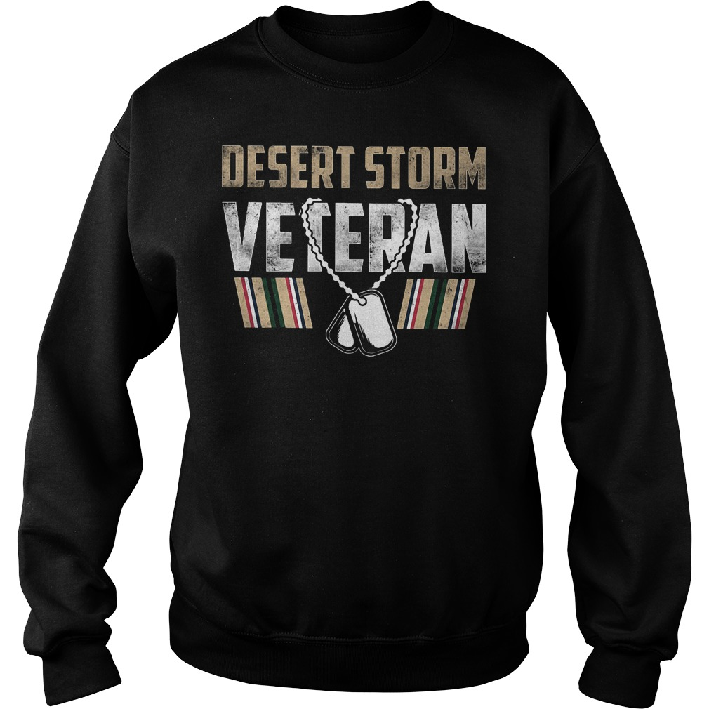 Desert Storm Veteran Sweater