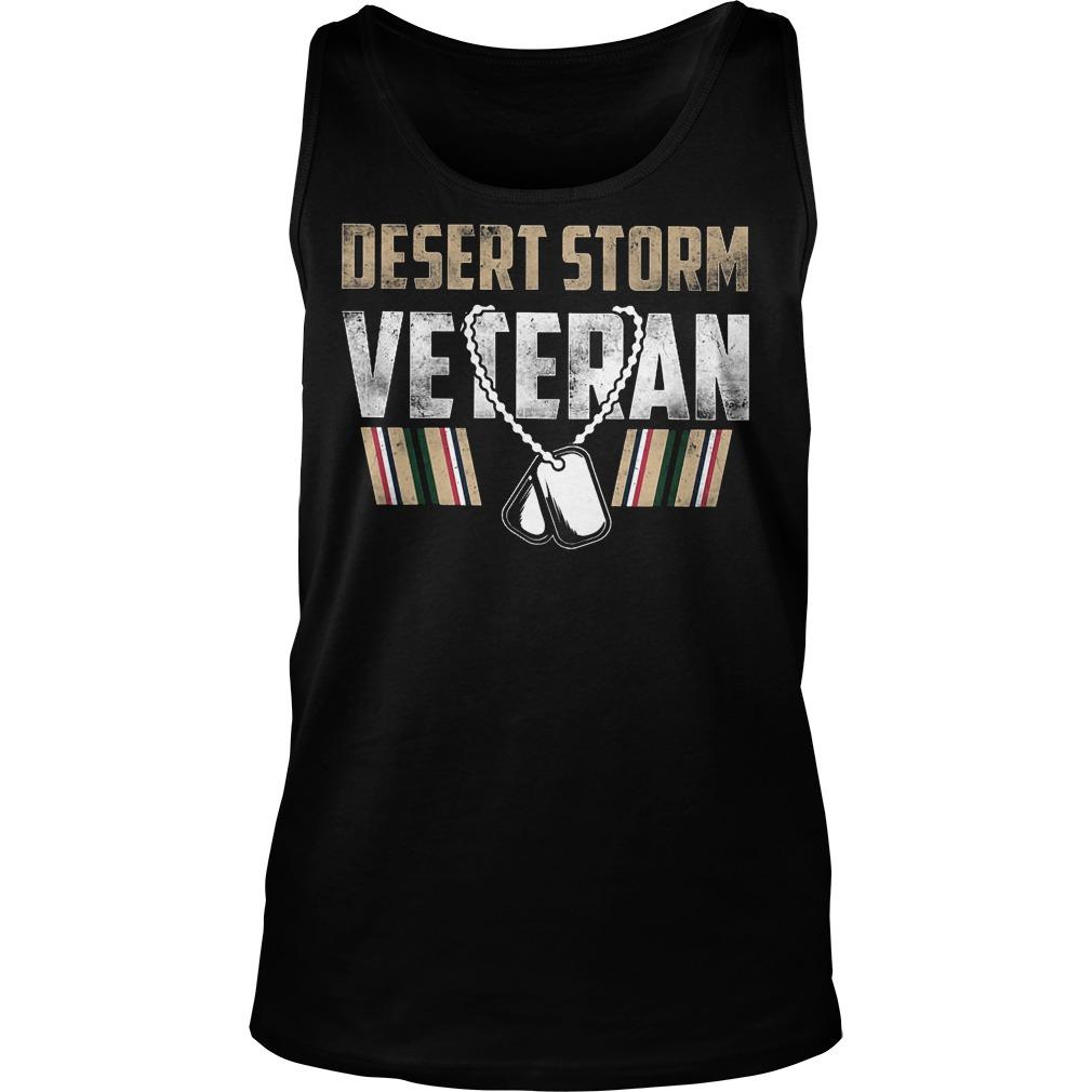 Desert Storm Veteran Tanktop