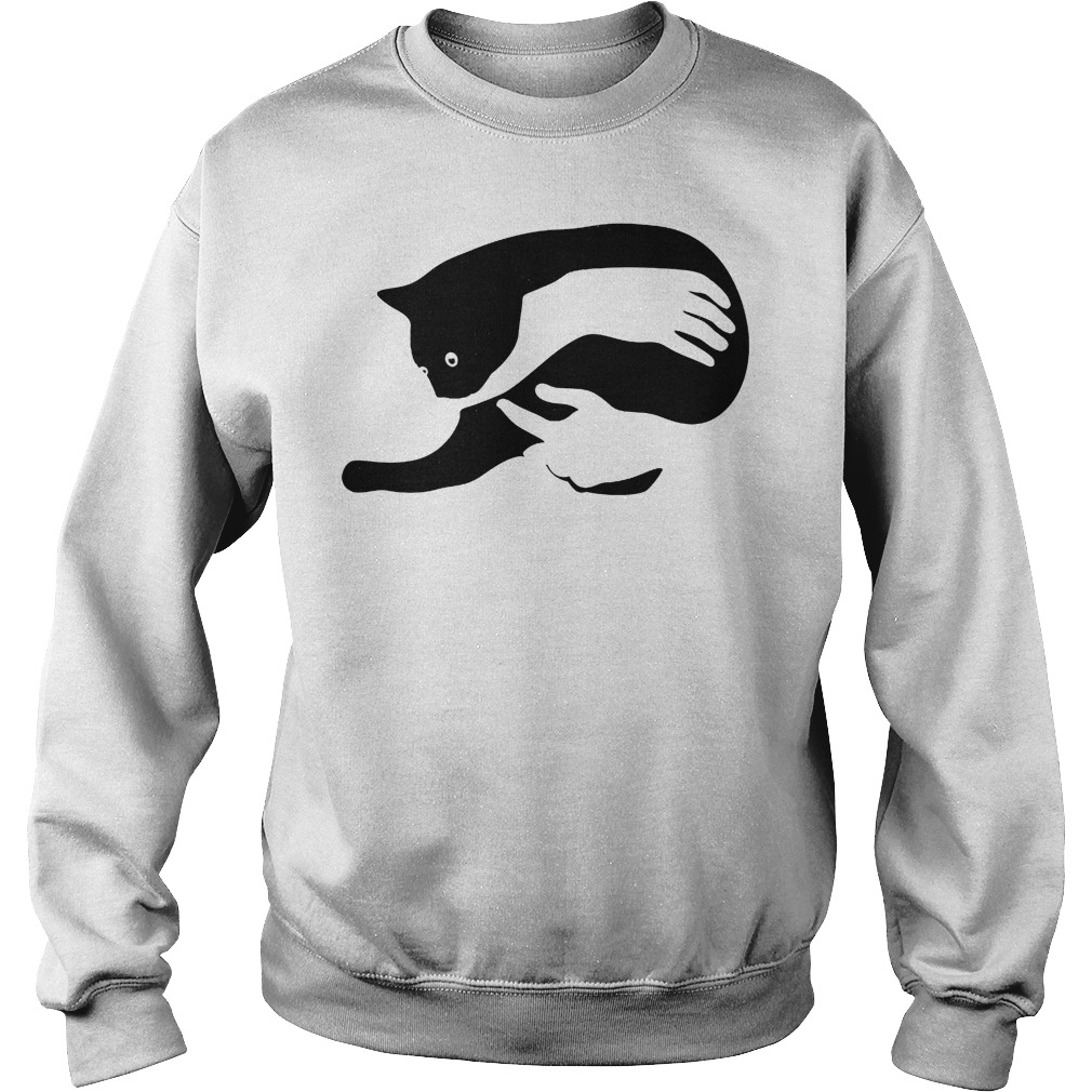 Hug Black Cat In My Arm Sweater