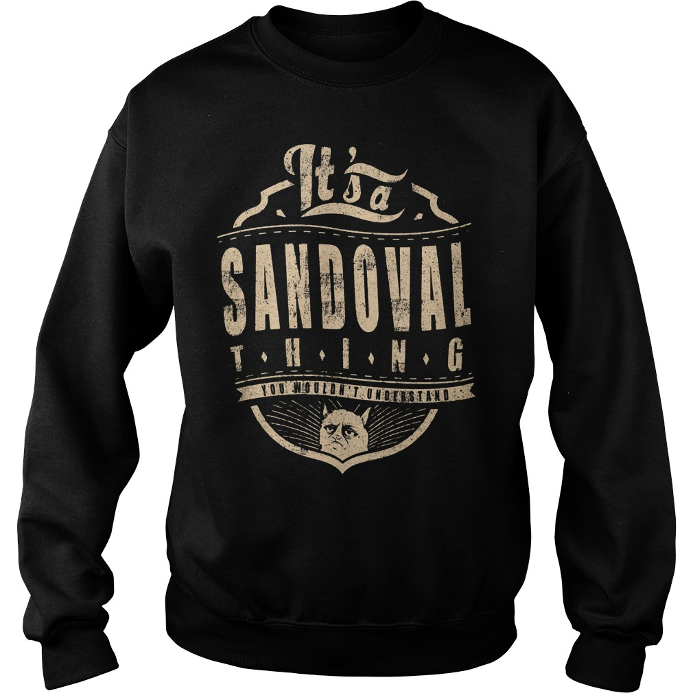 It's A Sandoval Thing Sweater