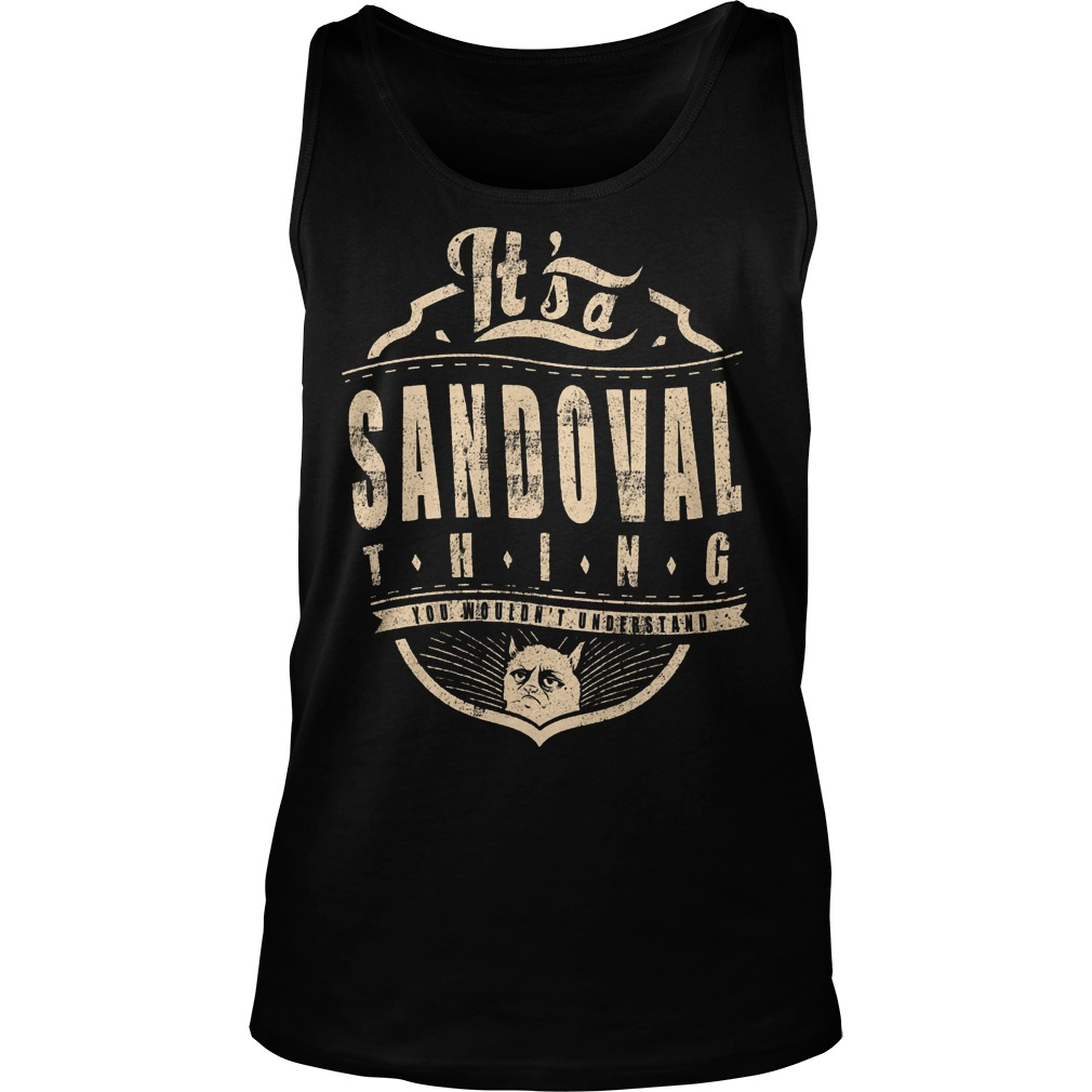 It's A Sandoval Thing Tanktop