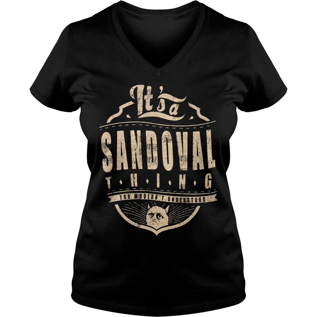 It's A Sandoval Thing V Neck