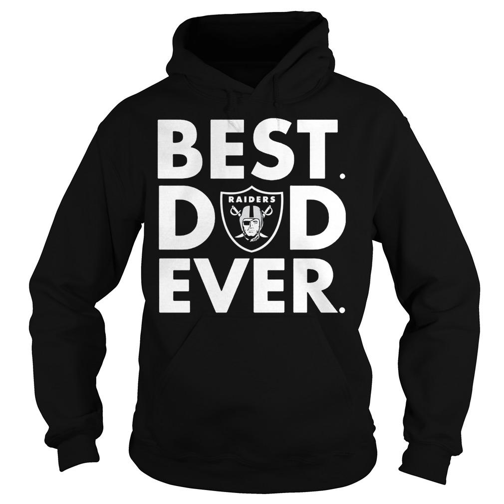 Official Oakland Raiders Best Dad Ever Hoodie
